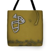 Notre Dame Fighting Irish Helmet 2 Tote Bag