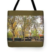 Notre Dame From The Window Tote Bag