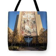 Notre Dame Library 2 Tote Bag