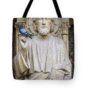 Notre Dame Saint Tote Bag