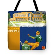 Notre Dame Versus Minnesota 1938 Program Tote Bag