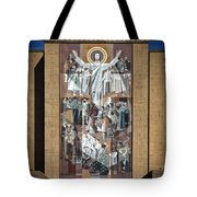 Notre Dame's Touchdown Jesus Tote Bag