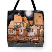 Notte Di Luna Piena Tote Bag