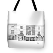 Notting Hill London City Scene Tote Bag