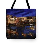Notturno Fiorentino Tote Bag by Guido Borelli