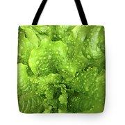 Nourish In Green Tote Bag