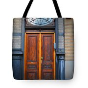 Nouveau Door Tote Bag