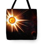 Nova And Dead Star Tote Bag