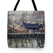 Nova Scotia Boats At Rest Tote Bag