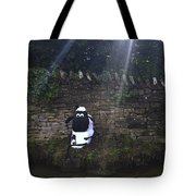 Novelty Sheep Scarecrow Tote Bag