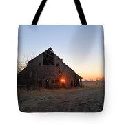 November Barn Tote Bag
