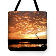 November Evening Tote Bag