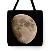 November Moon - Photograph Tote Bag