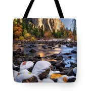 November Morning Tote Bag