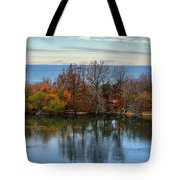 November Reflections Tote Bag