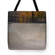 November Skatescape #4 Tote Bag