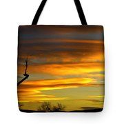 November Sunset Tote Bag