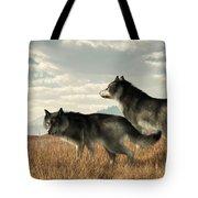 November Wolves Tote Bag