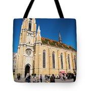 Novi Sad Cathedral Tote Bag