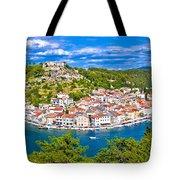 Novigrad Dalmatinski Waterfront And Bay View Tote Bag