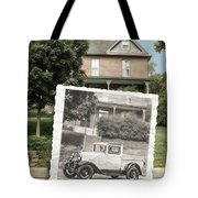 Now And Then Tote Bag