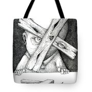 Now I'm Free To Have Any Point Of View Tote Bag