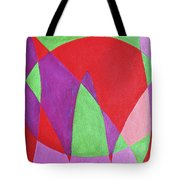 Now In Abstract Text Art Tote Bag