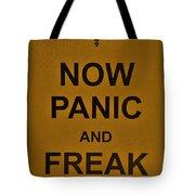 Now Panic 23 Tote Bag