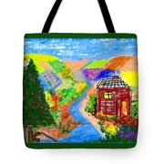 Now, Where Did He Disappear To? Tote Bag