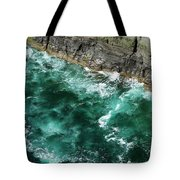 Nowhere To Go Cliffs Of Moher Ireland Tote Bag
