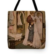 Nr-dress Norman Rockwell Tote Bag