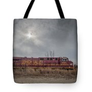 Ns 8104 Lehigh Valley At Booneville In Tote Bag