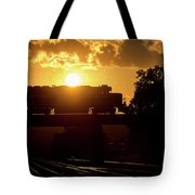 Ns Local At Sunset Tote Bag