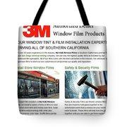 Nu-vue Window Films Infographics Tote Bag