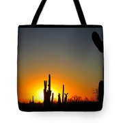 Nuclear Sunset Tote Bag