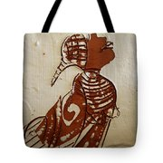 Nude 5 - Tile Tote Bag