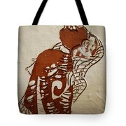 Nude 9 - Tile Tote Bag