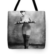 Nude And Apples, C1880 Tote Bag
