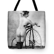 Nude And Bicycle, C1885 Tote Bag