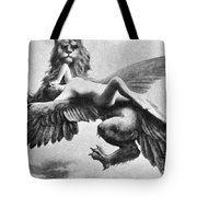 Nude And Griffin, 1890s Tote Bag