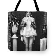 Nude As Ancient Musician Tote Bag