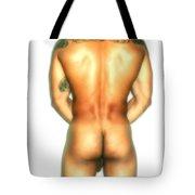 Nude Back Tote Bag
