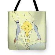 Nude Bathing Tote Bag