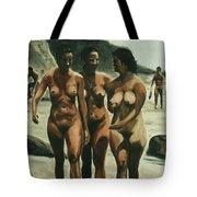 Nude Beach Tote Bag