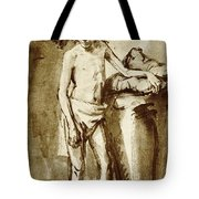 Nude Drawing For A Youth Tote Bag