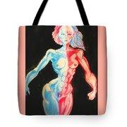 Nude Female Sketch 27 Tote Bag