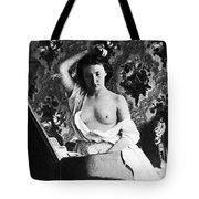 Nude Fixing Hair, C1861 Tote Bag