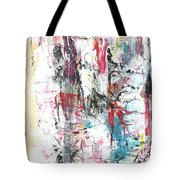 Nude In Abstract Tote Bag