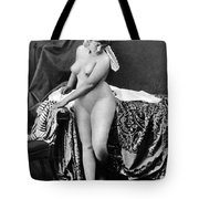 Nude In Bonnet, C1885 Tote Bag