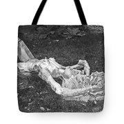 Nude In The Park Tote Bag
